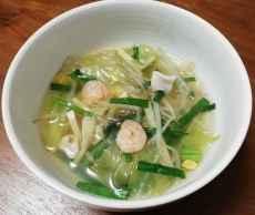 海鮮春雨スープ